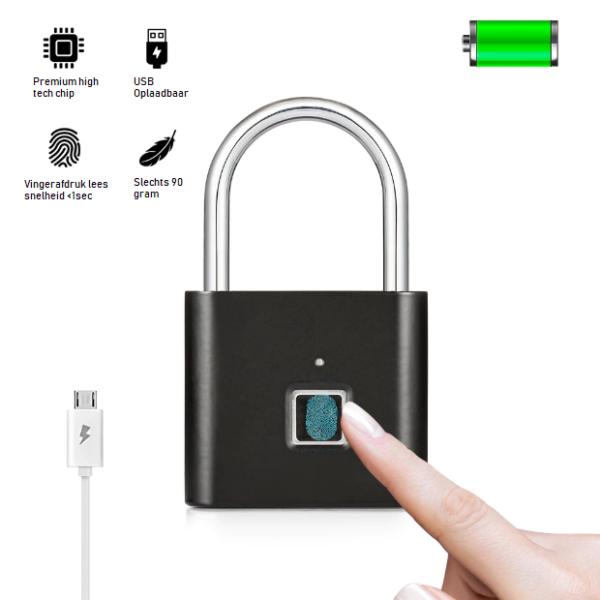 USB Slot Met Vingerafdruk