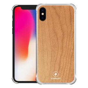 Houten iPhone XR hoesje